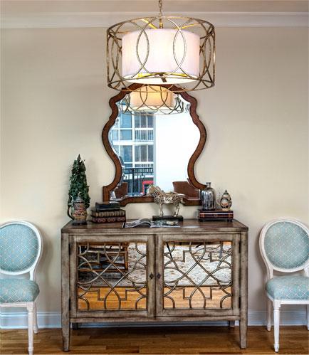 Chicago Interior Designer. Foyer Interior Design